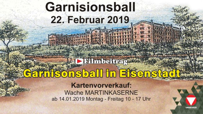 36. Garnisonsball in Eisenstadt am 22. Februar 2019