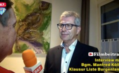 Interview mit Bgm. Manfred Kölly - Klausur Liste Burgenland