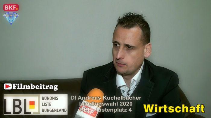 Andreas Kuchelbacher, LBL – LTW 2020 – Wirtschaft
