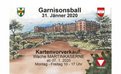 Garnisonsball 2020 in der Martin-Kaserne in Eisenstadt