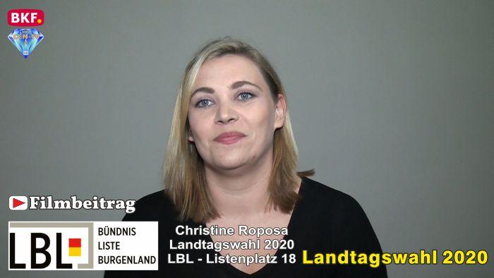 Christine Roposa, LBL – Landtagswahl 2020