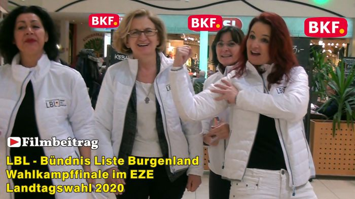 LBL, Bündnis Liste Burgenland – Wahlkampfende im EZE