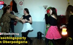 Faschingsparty in Oberpodgoria